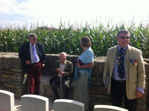 David Pawsey, Edwin Gibson (RAFA), Rosemary Kent & Col Kimber.